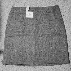 NWT Talbots Herringbone Skirt
